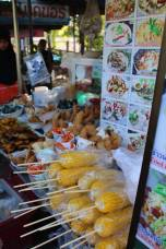 Street food stall in Krabi