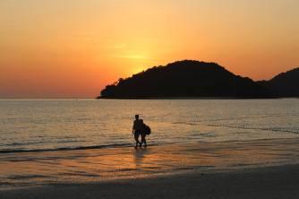 Sunset on Langkawi, Malaysia